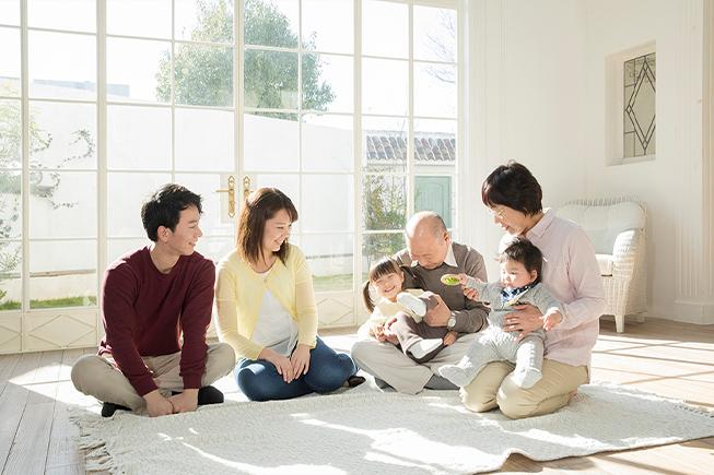家族が集まるきっかけ